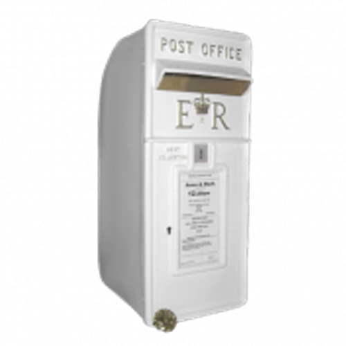 White Wedding Post Box Hire
